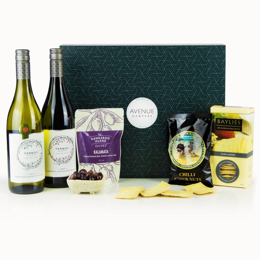 Red White And Savoury Avenue Hampers Gift Hampers Perth