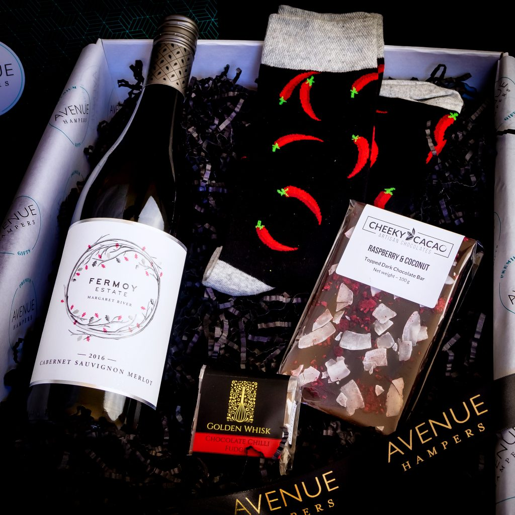 Red Sweet Spice Avenue Hampers Gift Hampers Perth